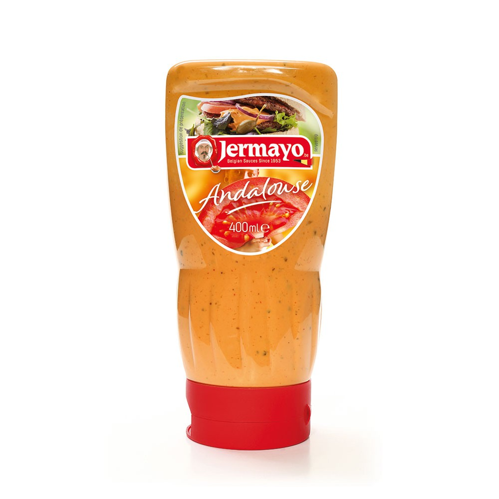 Andalouse sauce - 6 x 400ml Squeezer - Cold sauces