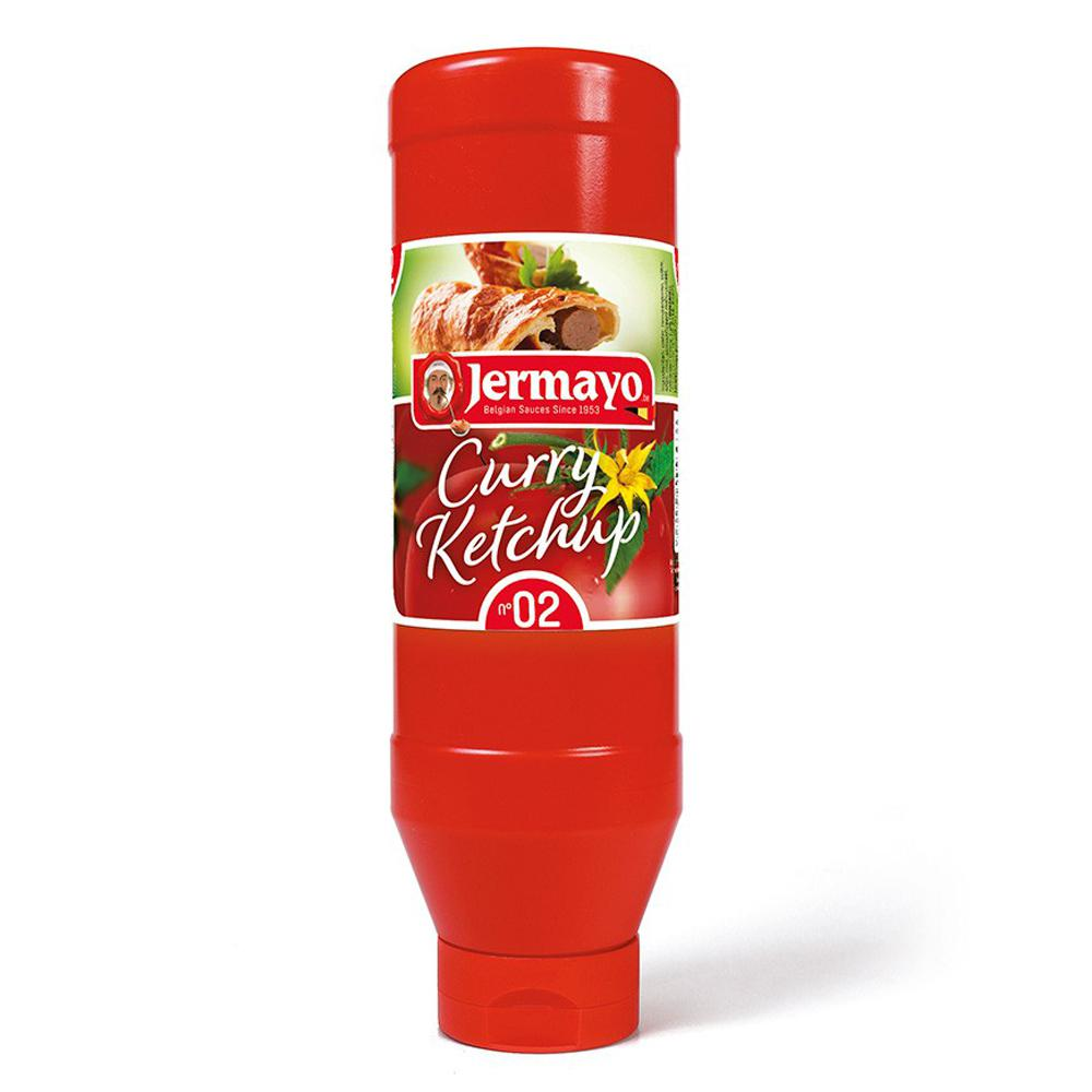 Curry Ketchup - 6 x tube 1L - Cold sauces